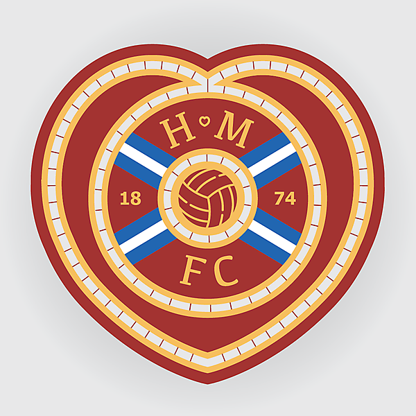 Heart of Midlothian FC Crest