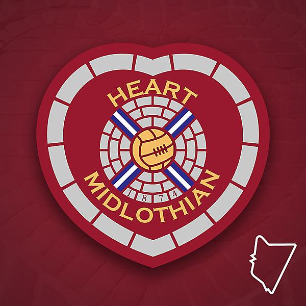 Heart of Midlothian Redesign - Riddesign