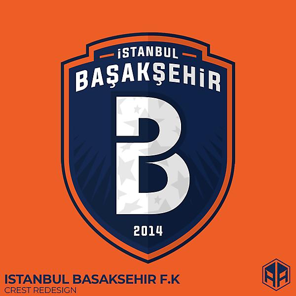 İstanbul Başakşehir F.K crest redesign