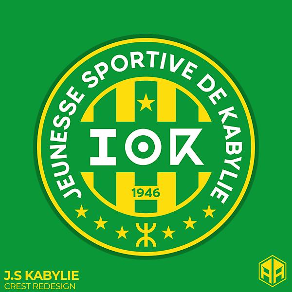 J.S Kabylie crest redesign