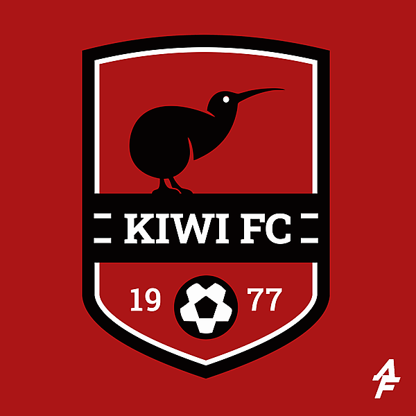 Kiwi FC Crest Redesign