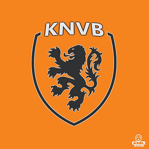 KNVB - crest redesign