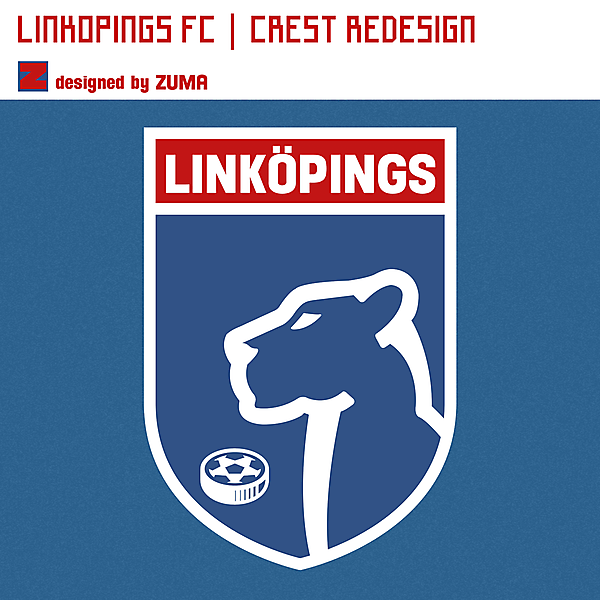Linköpings FC | Crest Redesign