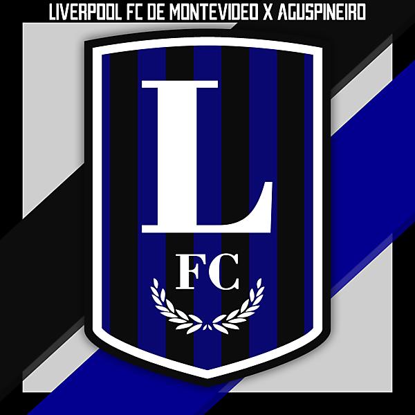 Liverpool FC de Montevideo Logo Redesign by aguspineiro