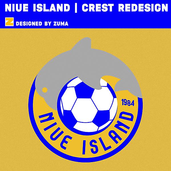 Niue Island | Crest Redesing