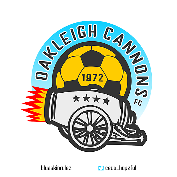Oakleigh Cannons crest redesign