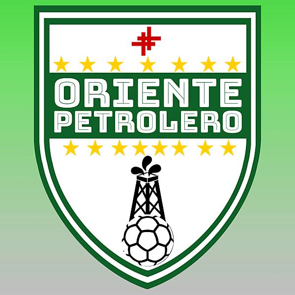 oriente petrolero Crest redesign