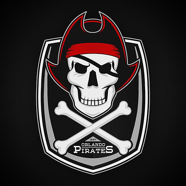 Orlando Pirates   Crest Redesign