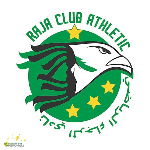 RAJA CLUB ATHLETIC CREST