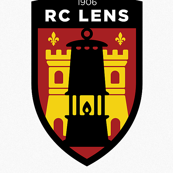RC Lens - Ligue 1 - redesign