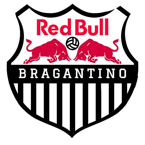 Red bull bragantino logo Redesign