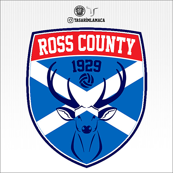 Ross County | Crest Redesign