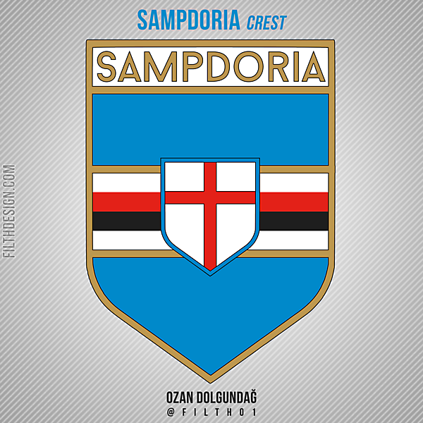 Sampdoria Crest