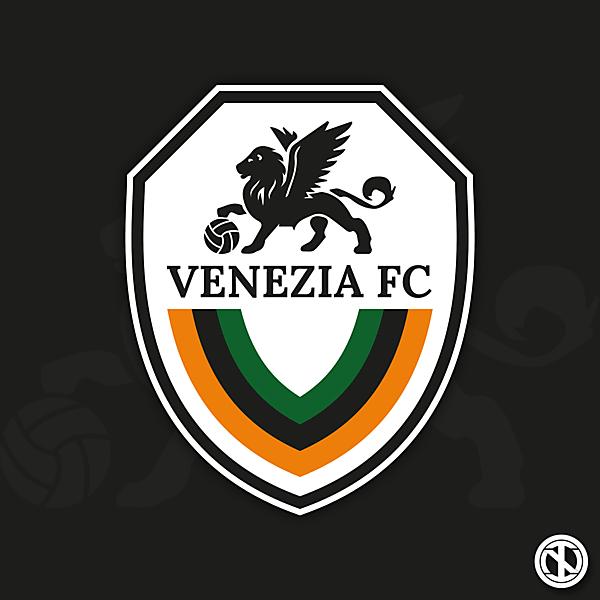 Venezia FC   Crest Redesign Concept