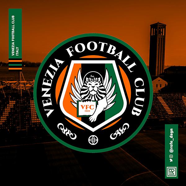 Venezia Football Club    Rebranding By @rofe_dsgn