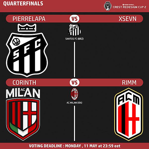 CRC 2 - Quarterfinals - Leg 1 - Voting