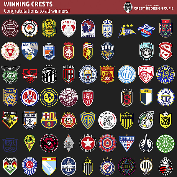 CRC 2 - Winning Crests