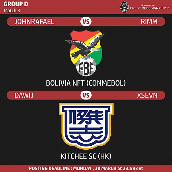 Group D - Match 3
