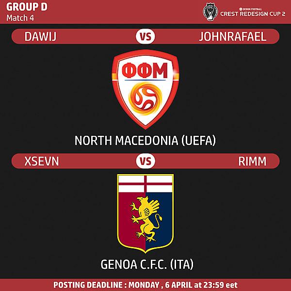 Group D - Match 4