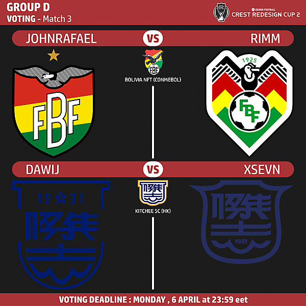 Group D - Voting - Match 3