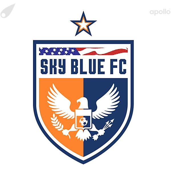 sky blue logo