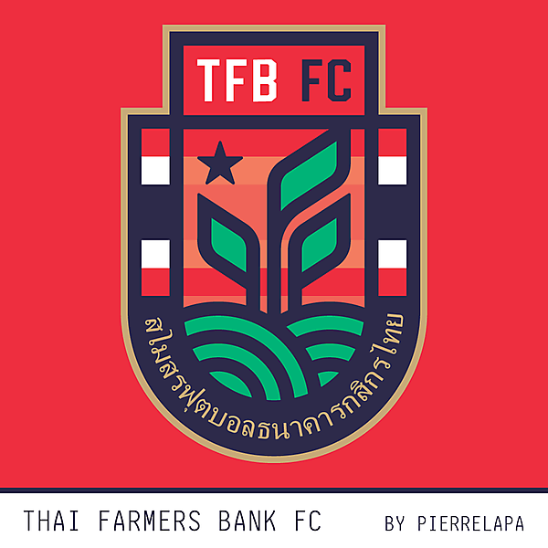Thai Farmers Bank FC - redesign