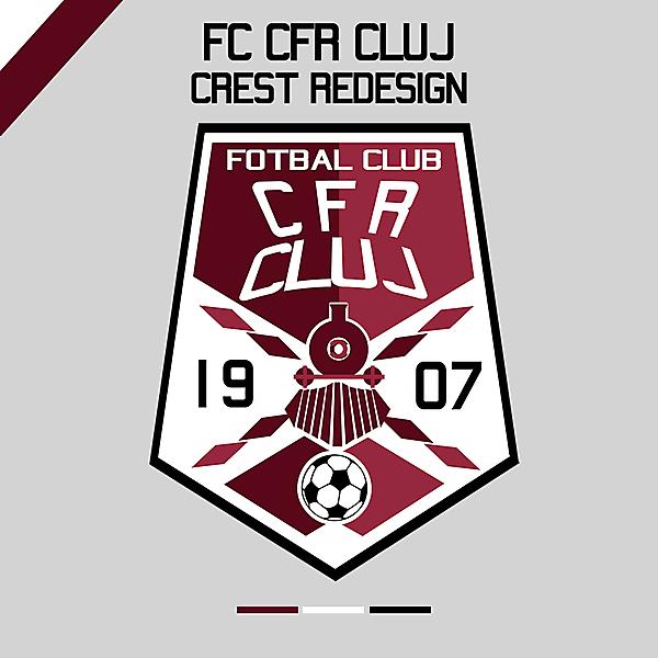 CFR Cluj Crest Redesign