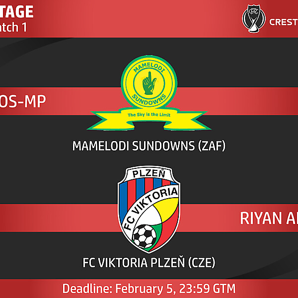 Group F - Match 1