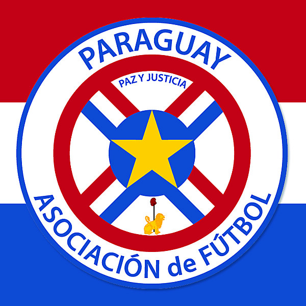 Paraguay Crest Redesign - Group A Match3
