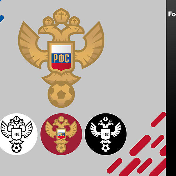 RUSSIA - Russian Football Union logo