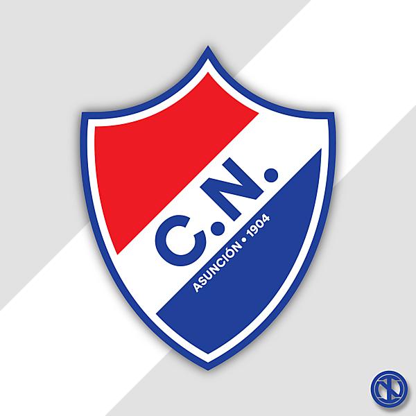 Club Nacional Asunción   Crest Redesign Concept