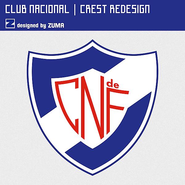 Club Nacional de Football | Crest Redesign