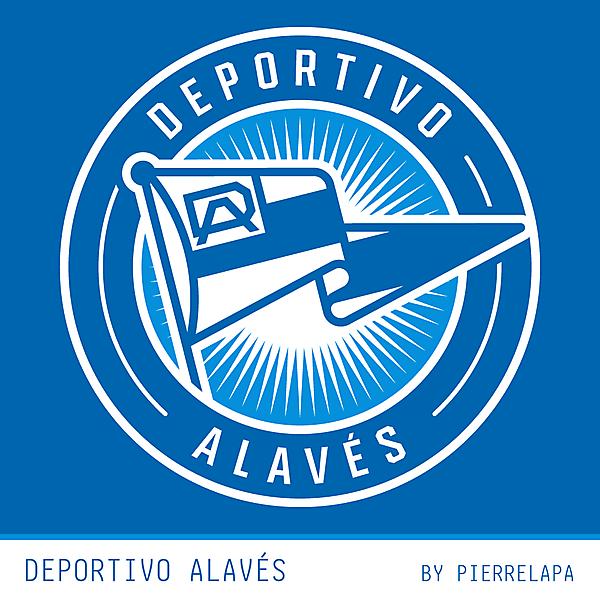 Deportivo Alavés - redesign - banderín