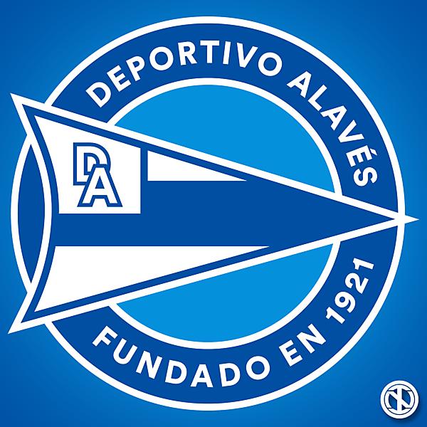 Deportivo Alavés   Crest Redesign Concept