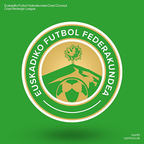 Euskadiko Futbol Federakundea | Crest Redesign League