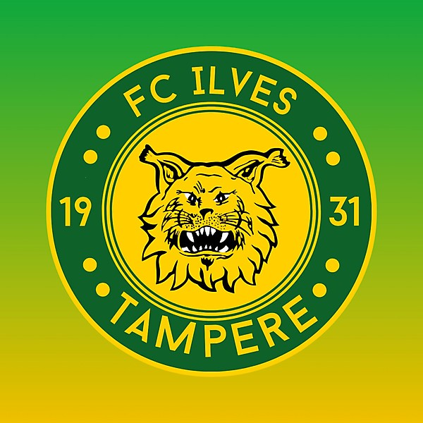 Fc Ilves Tampere Crest Redesign