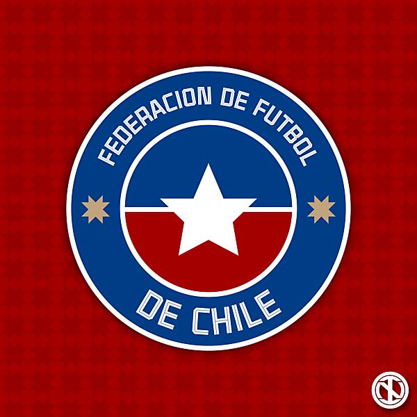 Federación de Fútbol de Chile | Crest Redesign Concept