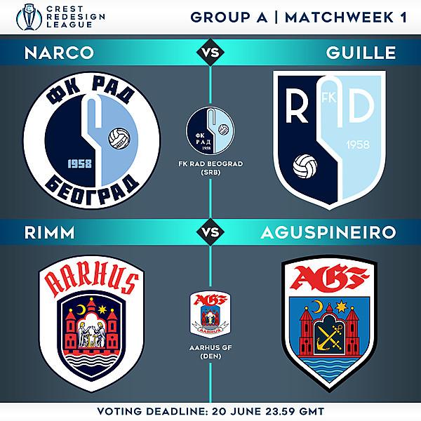 Group A - Matchweek 1 - Voting