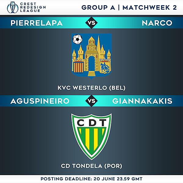 Group A - Matchweek 2