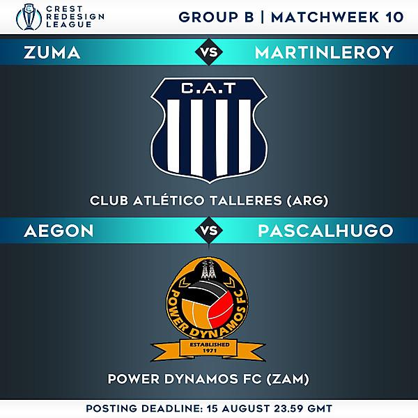 Group B - Matchweek 10