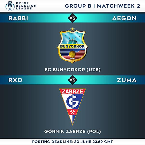 Group B - Matchweek 2