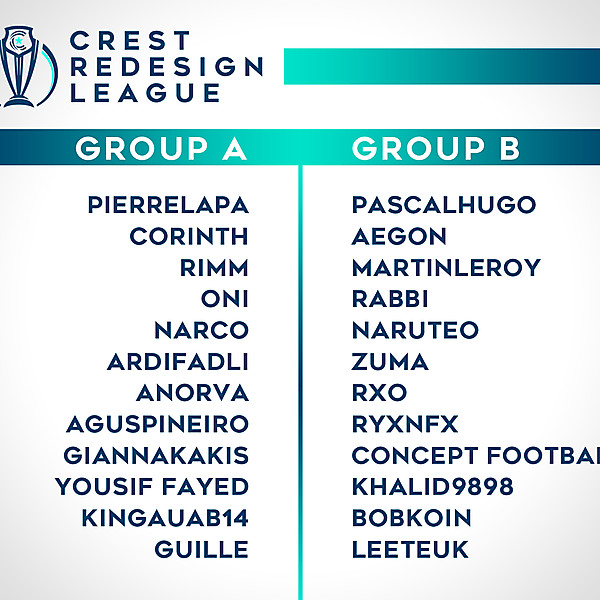 Group Stage Draw