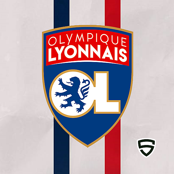 Olympique Lyonnais - Crest Redesign League