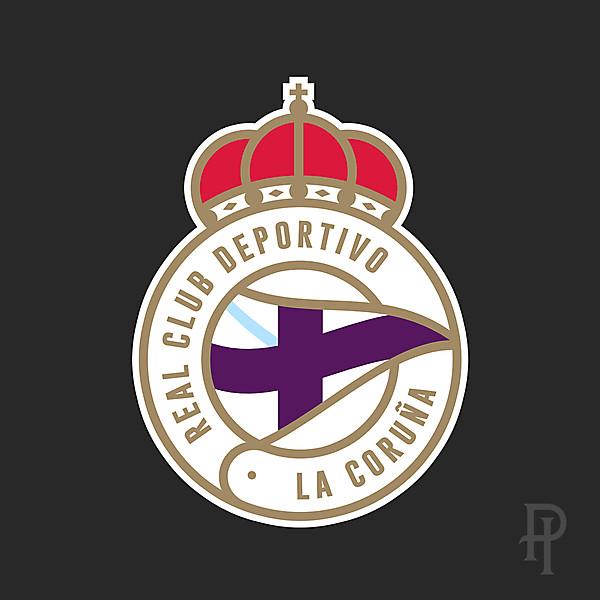 RC Deportivo La Coruña - Rebrand
