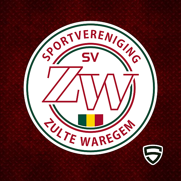 SV Zulte Waregem - Crest Redesign