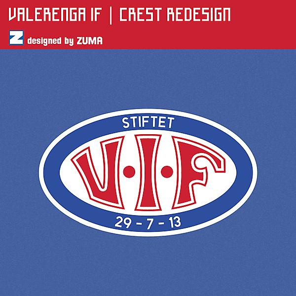 Vålerenga IF | Crest Redesign
