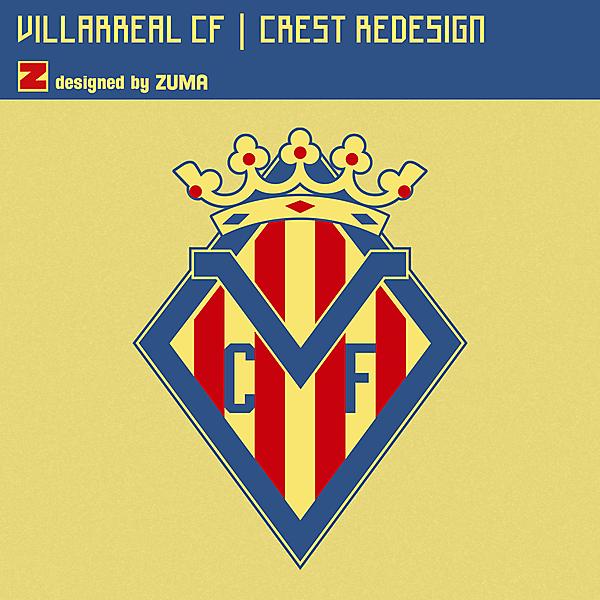 Villarreal CF | Crest Redesign