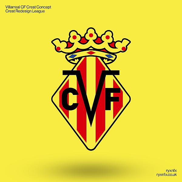 Villarreal CF | Crest Redesign League