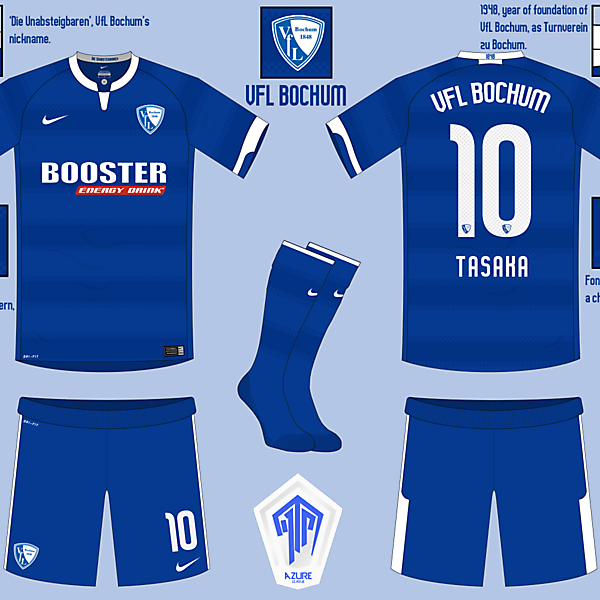 [AL MD6] VfL Bochum Home Kit