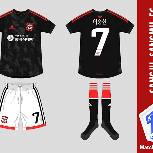 [Azure League] Matchday 4 - Sangju Sangmu FC